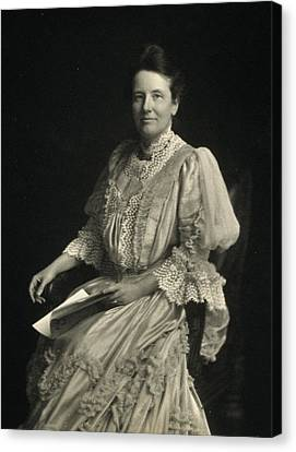 First Lady Edith Kermit Roosevelt, Wife Canvas Print by Everett