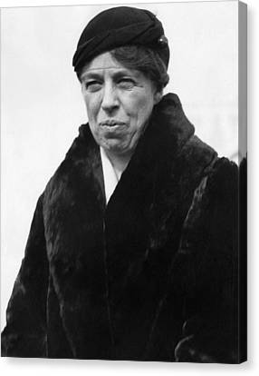 First Lady Eleanor Roosevelt Canvas Print by Everett