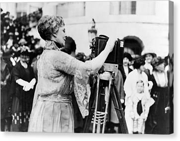 First Lady Florence Harding, Wife Canvas Print by Everett