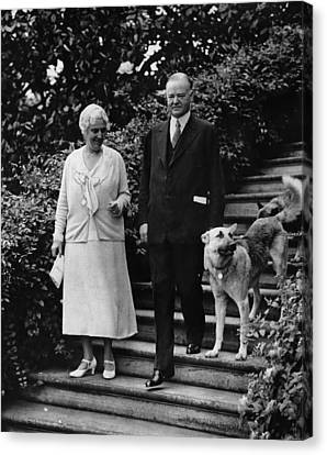 First Lady Lou Henry Hoover, President Canvas Print by Everett