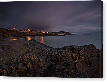 First Light At Greystones Canvas Print