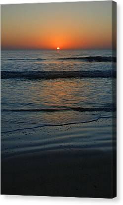Canvas Print featuring the photograph First Light by Rod Seel