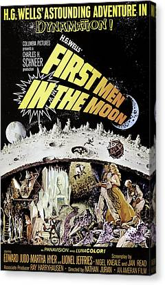 First Men In The Moon, Edward Judd Canvas Print by Everett