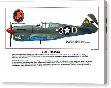 First Victory Canvas Print by Jerry Taliaferro