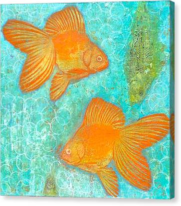 Fish For Free Canvas Print by Micki  Moss