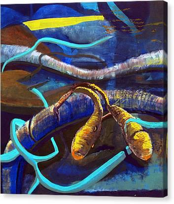 Fish Canvas Print by Maryam Salamat