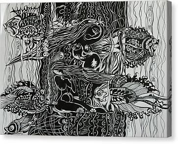 Fish River Canvas Print by Min Wang