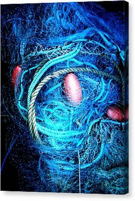Fish Robe Net   Canvas Print by Colette V Hera  Guggenheim