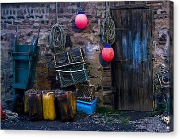 Fishermans Supplies Canvas Print by John Short
