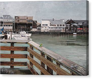 Fishermans Wharf San Francisco Canvas Print by Stuart B Yaeger