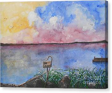 Fishers Of Men Canvas Print by Barbara McNeil