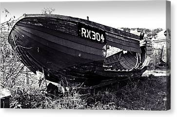 Fishing Boat Wreck Canvas Print by Sharon Lisa Clarke