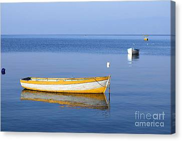 Fishing Boats Canvas Print by Marija Stojkovic