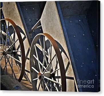Canvas Print featuring the photograph Fishing Cart II by Sherry Davis