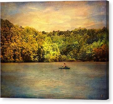 Fishing Day Canvas Print by Jai Johnson
