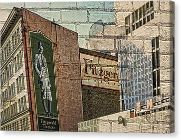 Fitzgerald Theater St. Paul Minnesota Canvas Print by Susan Stone