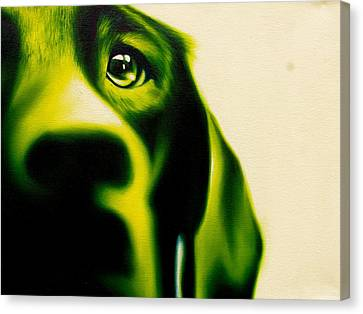 Fixated Canvas Print by Theresa Crawford