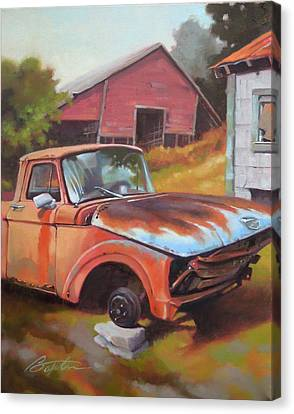 Fixer Upper Canvas Print by Todd Baxter