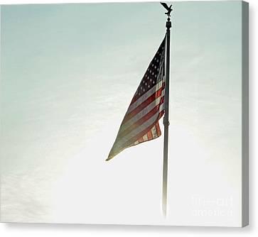 Flag Canvas Print by Billie-Jo Miller