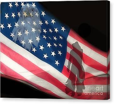 Flag IIi Canvas Print by Billie-Jo Miller