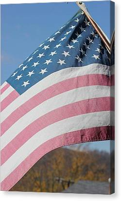 Flag Canvas Print by Static Studios