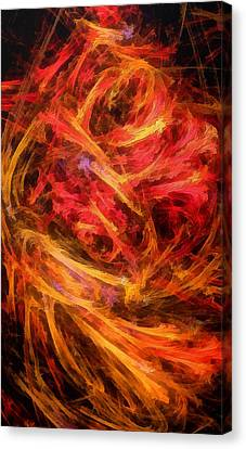 Flamboyance Canvas Print by RochVanh