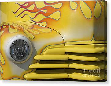 Canvas Print featuring the photograph Flame Mobile by Sherry Davis