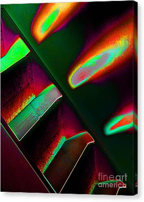 Flames One Canvas Print by Adriano Pecchio