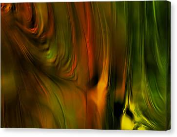 Flaming Color Canvas Print by Bonnie Bruno