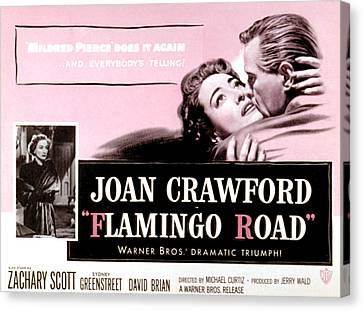 Flamingo Road, Joan Crawford, David Canvas Print by Everett