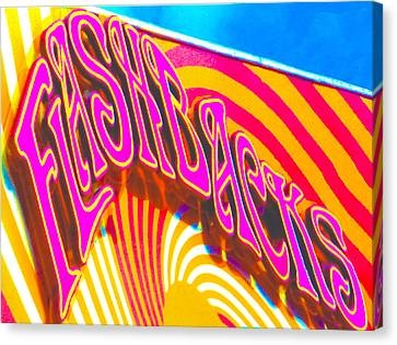 Flashbacks Canvas Print