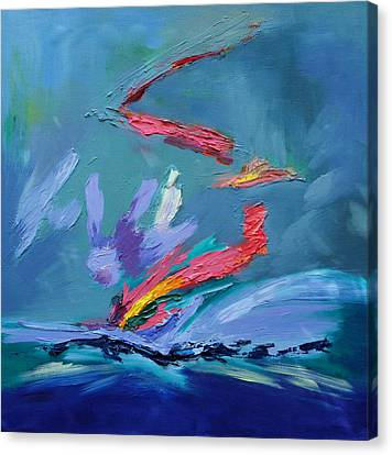 Fleeting Moment II Canvas Print by Karin Eisermann