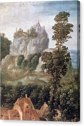 'flight Into Egypt', 16th Century, Painting Canvas Print by Photos.com