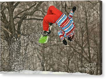 Flippin' Canvas Print by Lois Bryan