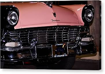 Flirtacious Fairlane Canvas Print by DigiArt Diaries by Vicky B Fuller