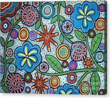 Floral Canvas Print by Karla Gerard