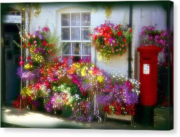 Floral Canvas Print by Rod Jones