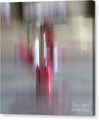 Florals In Motion 1 Canvas Print by Cedric Hampton