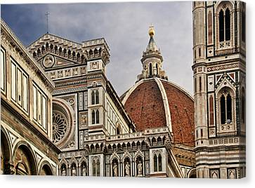 Florence Duomo Canvas Print by Steven Sparks
