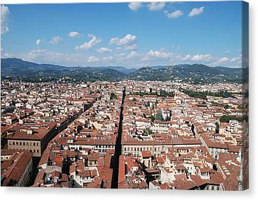 Florence From The Duomo Canvas Print by Dany Lison
