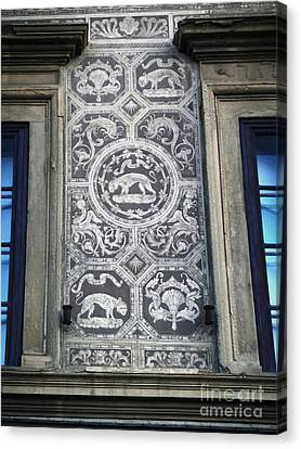 Florence Italy - Architectural Detail - 01 Canvas Print by Gregory Dyer