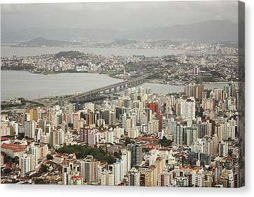 Explosion Canvas Print - Florianópolis by DircinhaSW