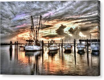 Florida Sunset Canvas Print by Brent Craft