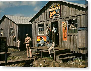Florida: Workers, 1941 Canvas Print by Granger