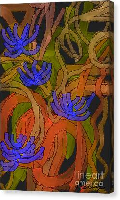 Flourishes Canvas Print