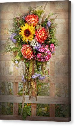 Flower - Summers Blessing  Canvas Print by Mike Savad