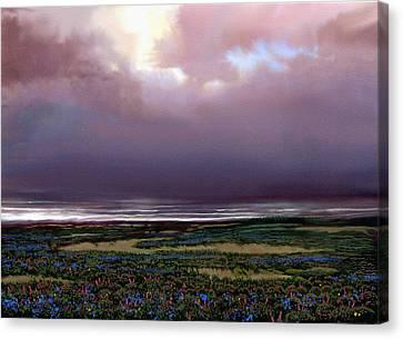 Flower Beach Canvas Print by Robert Foster