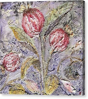 Flower Pods Canvas Print by Brenda Berdnik