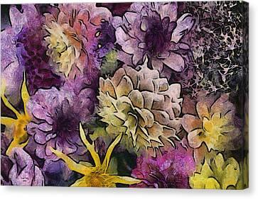 Flower Power Canvas Print by Trish Tritz