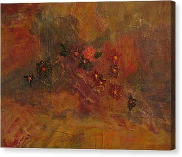 Flower Wash Canvas Print by Lynn Watters